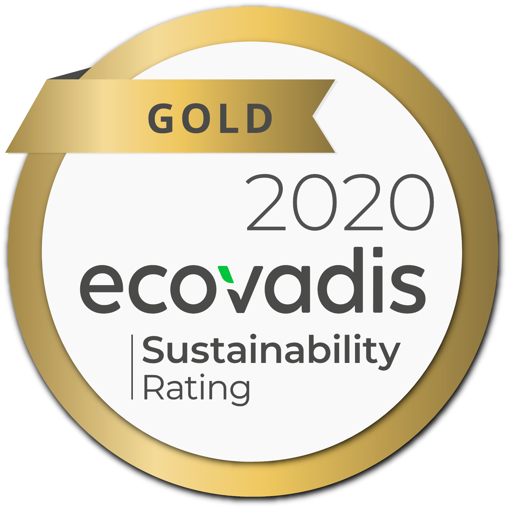 All good things come in threes: ALD Automotive Switzerland was awarded the EcoVadis Gold Medal